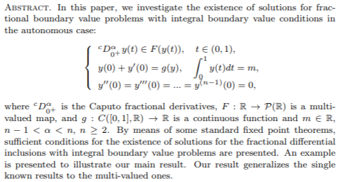 Journal of Fractional Calculus and Applications